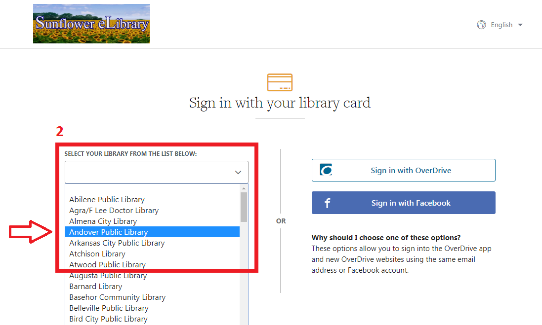 Using Overdrive and the Sunflower eLibrary | Andover Public