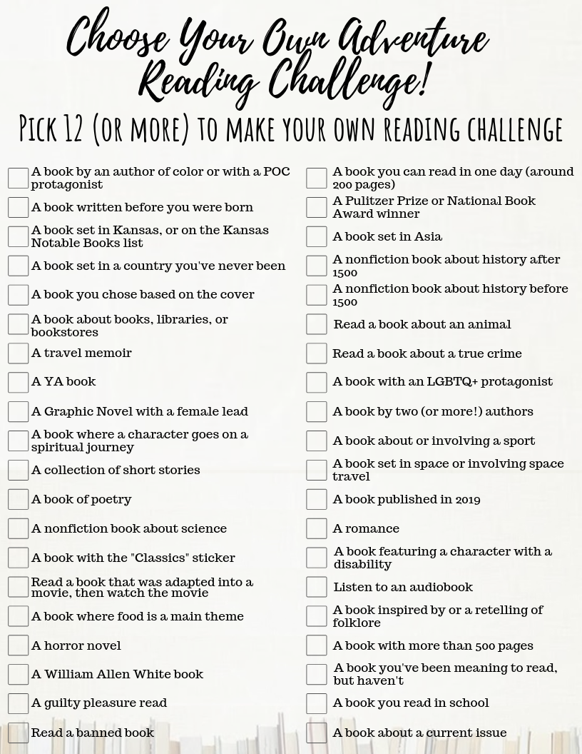 reading challenges for students