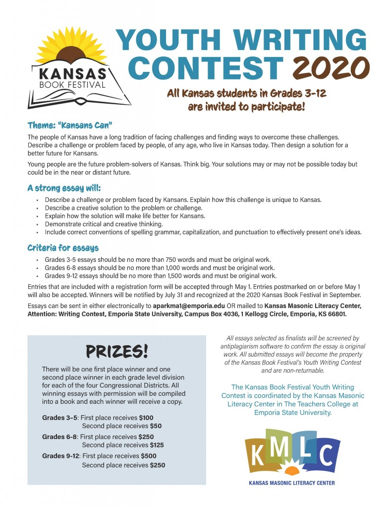 2020 KBF Essay contest guidelines