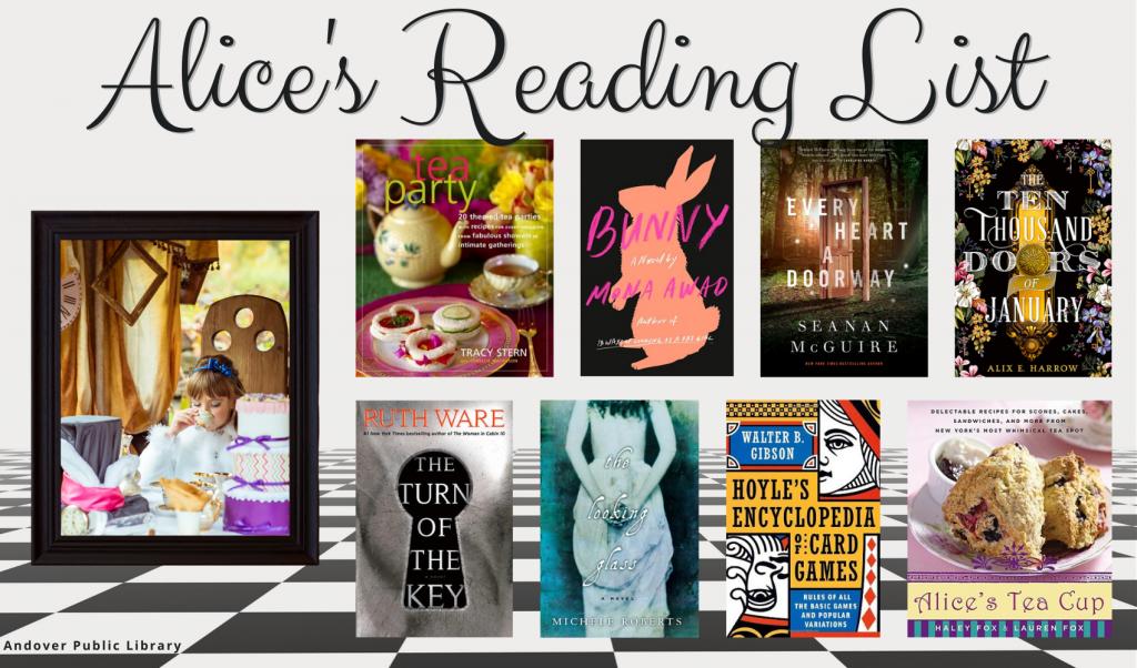 Alice In Wonderland's Reading List