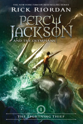 cover image of Percy Jackson and the Olympians: The Lightning Thief by Rick Riordan